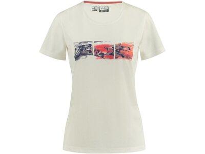 McKINLEY Damen T-Shirt Jaffa Weiß
