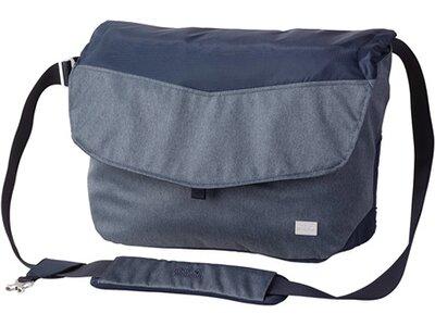 JACK WOLFSKIN Notebooktasche Wool Tech Messenger Grau