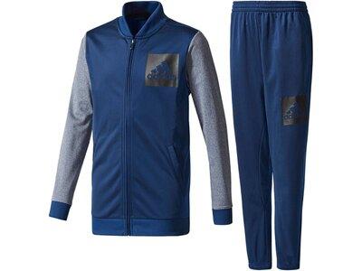 ADIDAS Kinder Trainingsanzug Iconic Tracksuit Blau