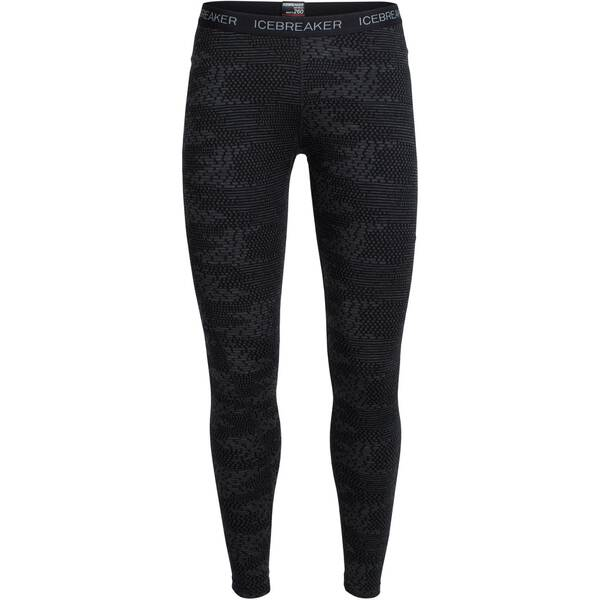 ICEBREAKER Merino Damen Funktionsunterhose Vertex Leggings Flurry