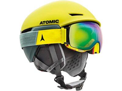 ATOMIC Skihelm / Snowboardhelm Revent + LF Gelb