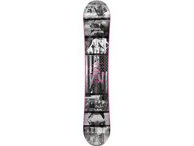 NITRO Herren Snowboard American Rouse Grau