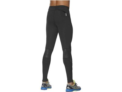 ASICS Herren Lauftights Stripe Tight Schwarz