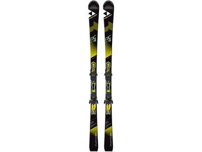 FISCHER Skier RC4 Superior SC inkl. Bindung RC4 11 Powerrail Schwarz