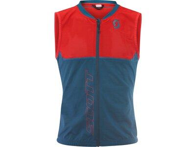 """SCOTT Herren Protektoren-Weste """"Light Vest Ms Actifit Plus"""" - black/iron grey Rot"""