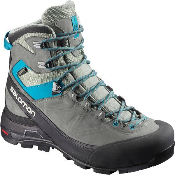 SALOMON Damen Trekkingschuhe X Alp Mtn GTX | Schuhe > Outdoorschuhe > Trekkingschuhe | Gray - Blue | SALOMON