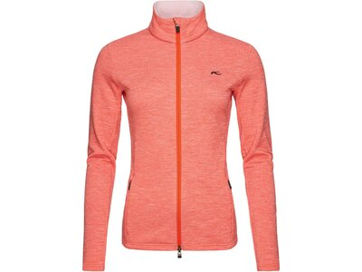 KJUS Damen Powerstrechjacke Calienta Orange
