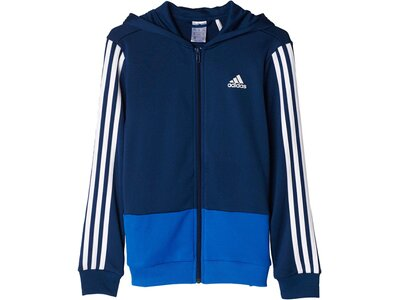 ADIDAS Kinder Gear Up Full Zip Hoodie Blau