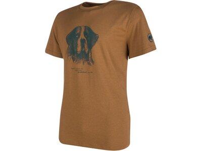 MAMMUT Herren T-Shirt Barryvox Athletic Fit Braun