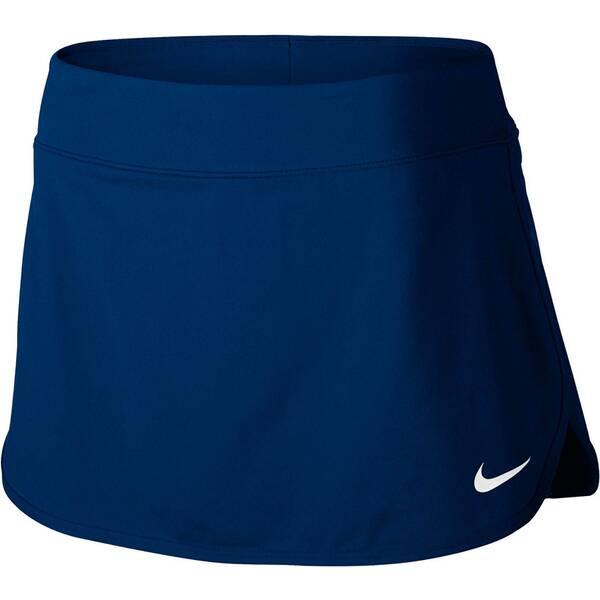 NIKE Damen Tennisrock Pure | Sportbekleidung > Sportröcke | Blau - Weiß | Nike