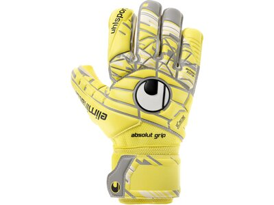 UHLSPORT Herren Torwarthandschuhe Eliminator Absolutgrip HN gelb