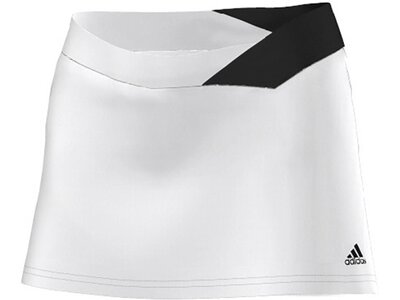 ADIDAS Damen Tennisrock mit Innenhose Response Skort Weiß