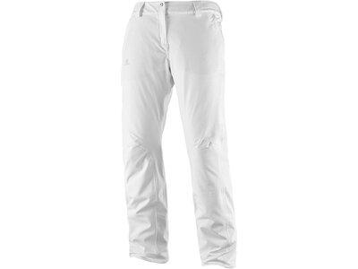 SALOMON Damen Skihose Icemania Pant Weiß