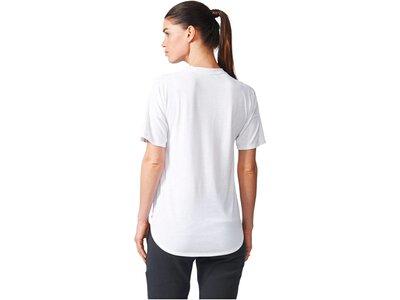 ADIDAS Damen Trainingsshirt ZNE Tee 2 Wool Weiß