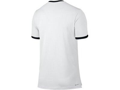 NIKE Herren Tennisshirt Kurzarm Weiß