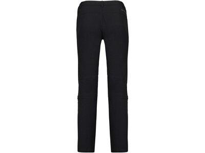 McKINLEY Damen Wanderhose / Zip-Off-Hose Mendoran II Kurzgröße Schwarz