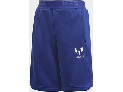 ADIDAS Kinder Messi Knit Shorts Blau