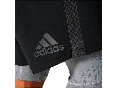ADIDAS Herren Trainingsshorts Crazytrain 2in1 Schwarz