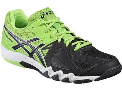 ASICS Herren Badminton Indoor Schuhe Gel-Blade 5 Grün