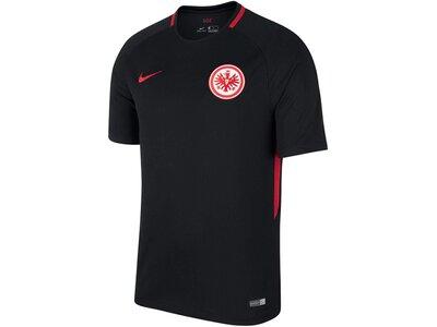 NIKE Herren Fußballtrikot Eintracht Frankfurt Stadium Away Saison 2017/18 Schwarz