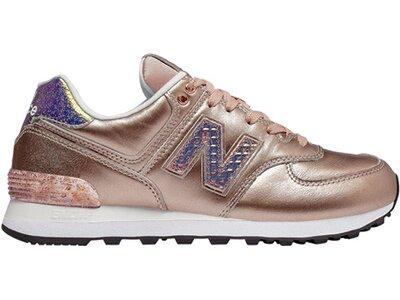 NEWBALANCE Damen Sneakers 574 Glitter Punk WL574NRG Bunt
