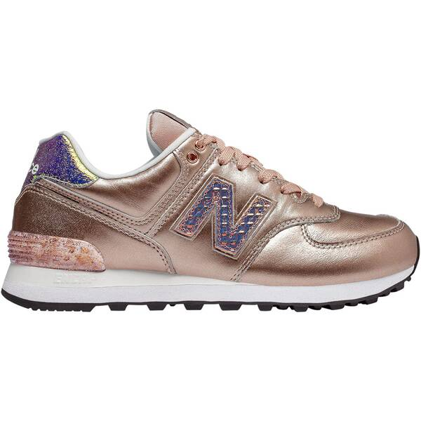 NEWBALANCE Damen Sneakers 574 Glitter Punk WL574NRG