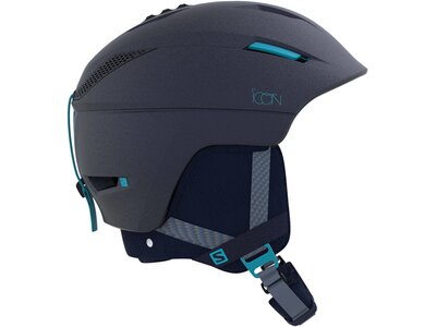 SALOMON Damen Skihelm Icon² C. Air Blau