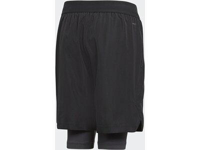 ADIDAS Kinder Football 2-in-1 Shorts Schwarz