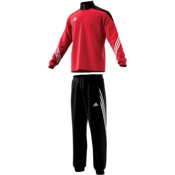 ADIDAS Herren Trainingsanzug Sereno 14 | Sportbekleidung > Sportanzüge > Trainingsanzüge | Red - Black - White | ADIDAS