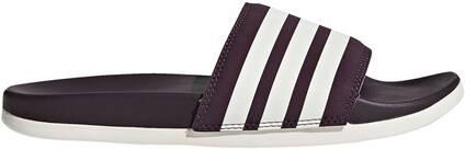 Essentials Damen Adilette Cloudfoam Plus Stripes Slipper