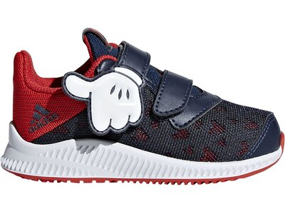 ADIDAS Performance Kinder Disney Mickey FortaRun Schuh Rot