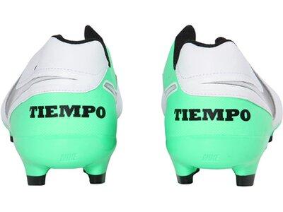 """NIKE Herren Fußballschuhe Rasen """"Tiempo Genio II Leather FG"""" Weiß"""