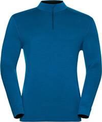 ODLO Herren Funktionsunterhemd Shirt L/S Turtle Neck 1/2 Zip Natural