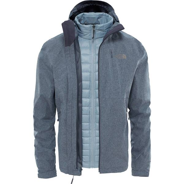 reputable site 8fb2f 39cc2 THE NORTH FACE Herren Doppeljacke / 3-in-1 Wanderjacke M Thermoball  Triclimate Jacket