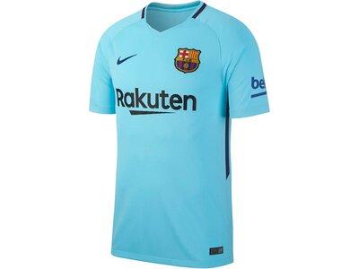 NIKE Herren Fußballtrikot FC Barcelona Stadium Away Saison 2017/18 Blau