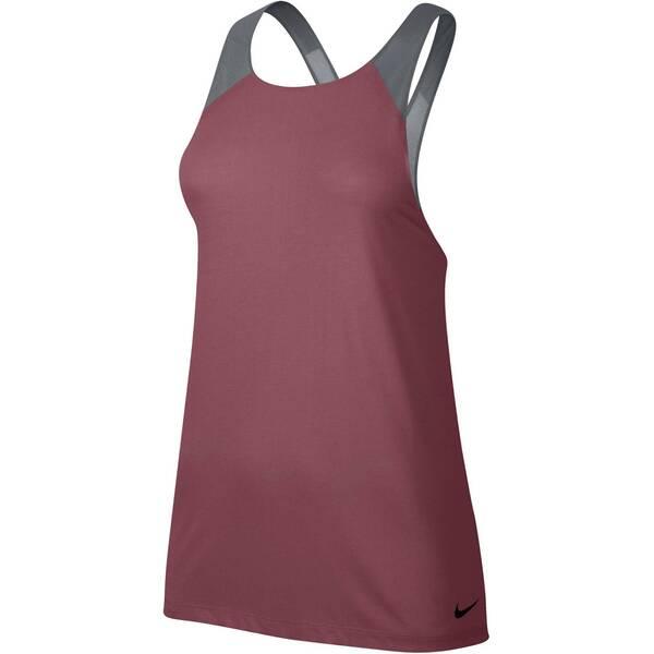 NIKE Damen Trainingsshirt / Tank Top Breathe Tank Loose