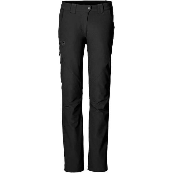 JACK WOLFSKIN Damen Softshellhosen Chilly Track Xt Pants | Sportbekleidung > Sporthosen > Softshellhosen | Black | JACK WOLFSKIN