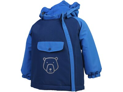 COLORKIDS Mädchen Skijacke Raidoni Mini Padded Jacket Blau