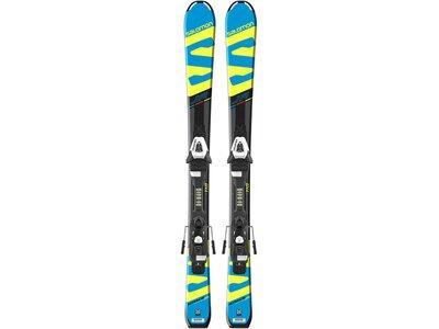 SALOMON Kinder Skier X-Race JR S inkl. Bindung E C5 Schwarz