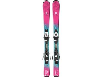 SALOMON Kinder Skier QST Lux inkl. Bindung Blau