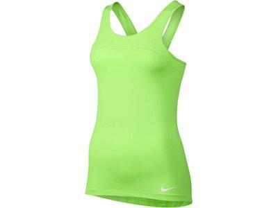 NIKE Damen Trainingstop Nike Pro Hypercool Tank Grün