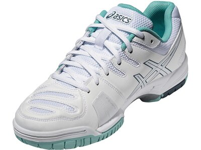 ASICS Damen Tennisschuhe Outdoor Gel-Game 5 Weiß