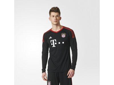 ADIDAS Performance Herren FC Bayern München Torwarttrikot Replica Schwarz