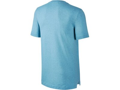 NIKE Herren Trainings-Shirt / Polo-Shirt Sportswear Polo Knit SU Kurzarm Blau