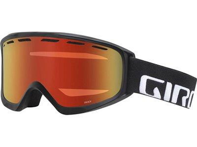 GIRO Herren Skibrille / Snowboardbrille Index Schwarz