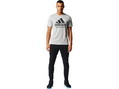 ADIDAS Herren T-Shirt Sport ID Silber