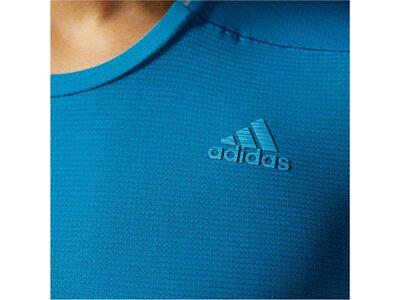 ADIDAS Herren Laufshirt / Trainingsshirt Supernova Long Sleeve Langarm Blau