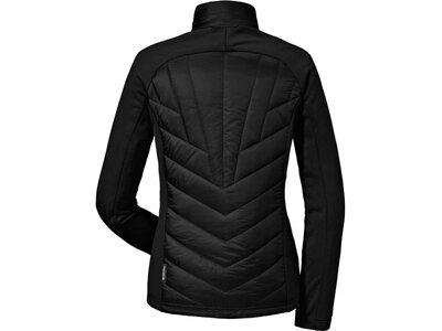 SCHÖFFEL Damen Outdoorjacke Hybrid Jacket Nagano Schwarz