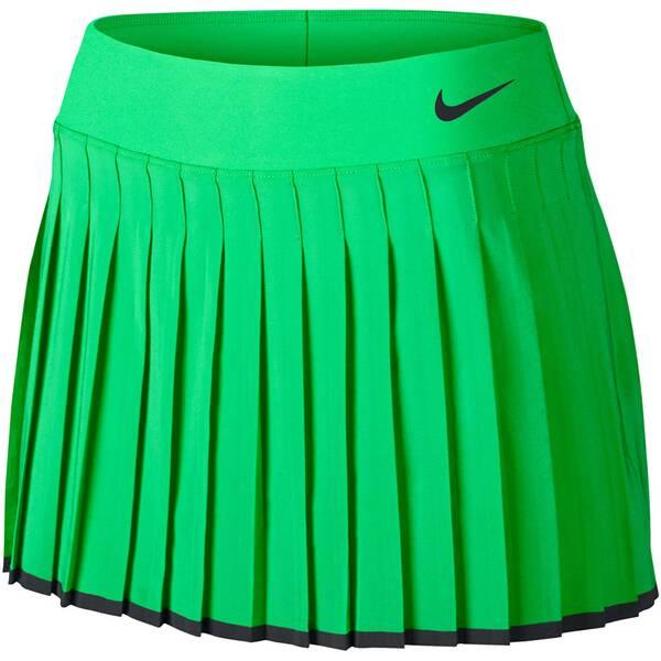 NIKE Damen Tennisrock Women´s NikeCourt Victory Tennis Skirt | Sportbekleidung > Sportröcke > Tennisröcke | Green - Black | NIKE