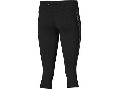 ASICS Damen Lauftights Lite-Show Knee Tight Schwarz